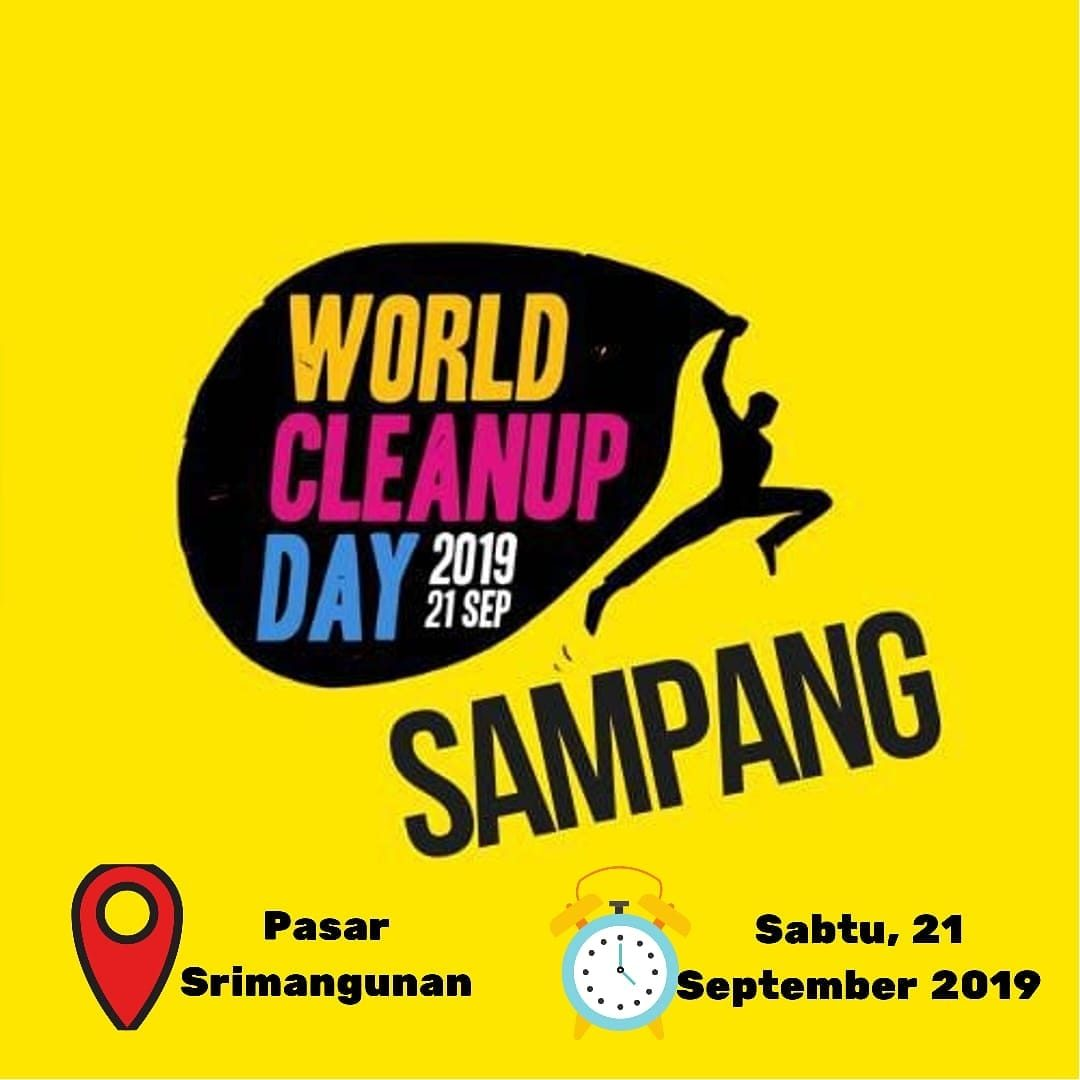 Ayo Ikut World Cleanup Day (WCD) Sampang 2019 1